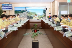 정읍시, 태풍 '바비' 북상…긴급 대책회의 개최