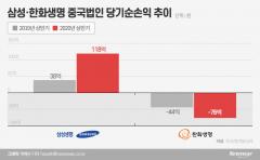 삼성·한화생명 중국법인, 코로나19 속 상반기 손익 희비