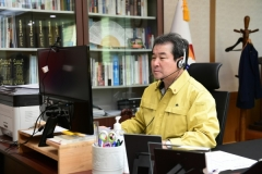 김충섭 김천시장, 비대면 시민행복토론회의 개최