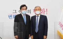 이낙연·김종인, 기자와 정치인에서 여야 당대표로 다시 만나