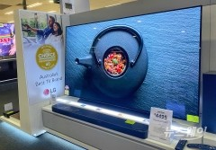 LG 올레드TV, 호주서 1~3위 석권