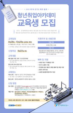 경기도·경기평택항만공사, '해운·물류 청년 취업 아카데미' 교육생 모집