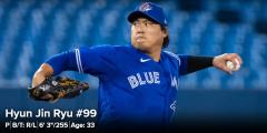류현진, 양키스전 6⅔이닝 1실점···시즌 첫 승-통산 60승 보인다