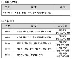 제10대 후반기 서울시의회 슬로건 '시민을 지키는 의회, 함께 만들어가는 서울'
