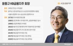 3연임 윤종규…'상고 출신 천재'에서 '백팩 멘 회장님'으로