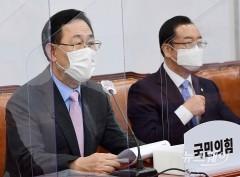 """주호영 """"주무장관 '우리집 5억' 발언 철없어"""""""