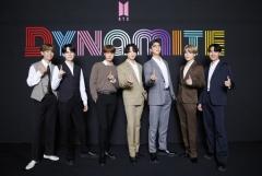 방탄소년단(BTS), '다이너마이트' 추가 리믹스 버전 오늘 공개