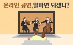 [카드뉴스]'안방 1열' 콘서트·연극·뮤지컬···얼마면 되겠니?