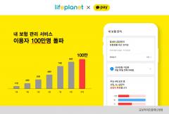 교보라이프플래닛, '내 보험 관리' 이용자 100만명 돌파