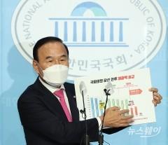 박덕흠 국민의힘 의원 해명 기자회견