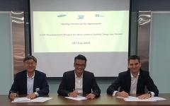 삼성중공업, '탄소 제로' 암모니아 추진선 기술인증 획득