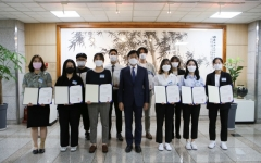 계명문화대, '전문기술인재장학금' 수여식 개최