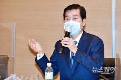 기념사하는 김태한 삼성바이오로직스 사장