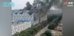 中 광둥성에서 건축 중이던 화웨이 건물 화재(종합)