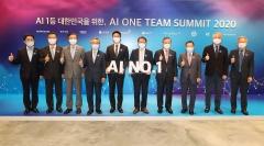 AI 원팀 서밋 2020 개최, 디지털혁신 가속화 방안 논의