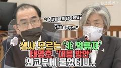 [뉴스웨이TV]생사도 모르는 '北 억류자'···태영호, '대응방안' 외교부에 물었더니?