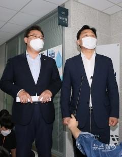 수석회동 결과 말하는 김영진-김성원