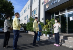 최기문 영천시장, 사회복지시설 방문해 따뜻한 추석인사 건네