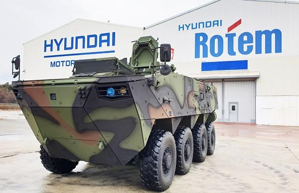 현대로템,4077억 규모 '차륜형장갑차'사업 따냈다(종합)