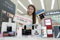 LG 윙, 6일 국내 출시···15일엔 美 시장 공략