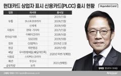 """'PLCC 동맹'이 상장 전략?…정태영 부회장 """"머니게임 안돼"""""""