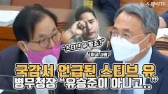 """국감서 언급된 스티브 유…병무청장 """"유승준이 아니고.."""""""
