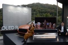 LG 롤러블 TV, 출시 전 벤틀리와 프리미엄 마케팅