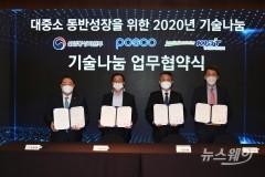 포스코, 협력사에 특허기술 200건 무상제공
