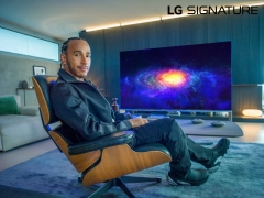 LG전자, 시그니처 브랜드 앰버서더로 '루이스 해밀턴' 선정