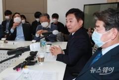 원희룡, 김무성 주도 '더좋은세상으로'(마포포럼)강연