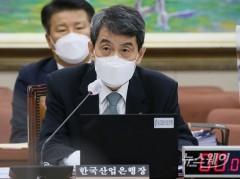 """[2021 국감]이동걸 """"대우조선 매각 현재 진행형···대안 검토 안해"""""""