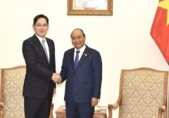 이재용 부회장, 베트남 총리 만나 협력방안 논의