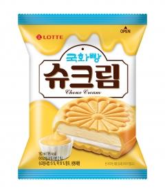 롯데푸드, '국화빵 슈크림' 출시