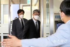 허인 KB국민은행장, 故 이건희 삼성 회장 빈소 조문