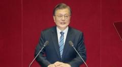 문 대통령 지지율 44.9%…서울·여성층 하락