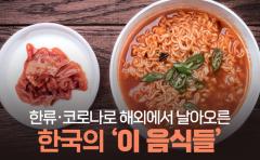 한류·코로나로 해외에서 날아오른 한국의 '이 음식들'