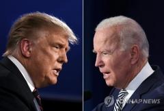 트럼프-바이든, 선거인단수 초접전 양상…경합주서 승패