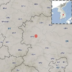 """경북 상주 북서쪽 규모 2.0 지진…""""피해 없을것"""""""