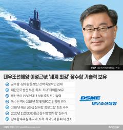 이성근 사장 '자부심' 대우조선 잠수함 경쟁력…亞 넘어 글로벌 수출길 열다