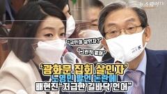 """'광화문 집회 살인자' 노영민 발언 논란에 배현진 """"저급한 길바닥 언어"""""""