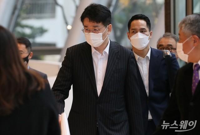 [NW포토]'한미재계회의 총회' 참석하는 조원태 한진그룹 회장