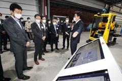 구현모-정기선, 사업협력성과 점검…디지털혁신 '박차'
