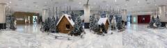 신세계백화점, 옥상정원에 '크리스마스 마을' 꾸민다