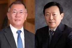 신동빈·정의선 비공개 회동…車 신소재 협업 모색