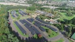 한화큐셀, 英 최대 보험사 아비바 주차장 태양광 발전소에 모듈 공급