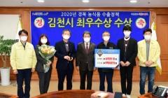 김천시, 경북도 주관 '수출정책 시군평가'서 최우수기관 선정
