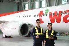티웨이항공, 전문 정비인력 양성 교육 지원