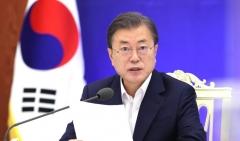 """문 대통령 """"미래차, 탄소중립 선도산업으로 육성"""""""