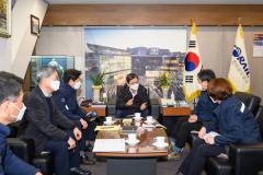 손병석 한국철도 사장, 철도노조 태업 대응 현황 점검