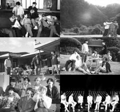 방탄소년단, 'Life Goes On' 흑백 버전 MV 공개